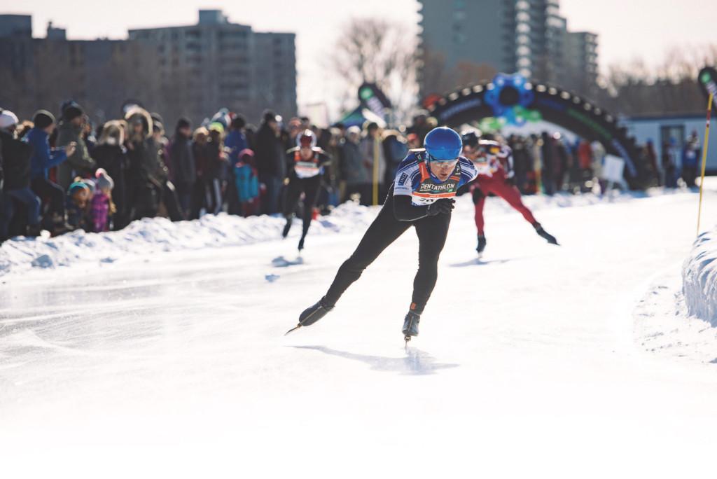 Hiver actif pentathlon des neiges