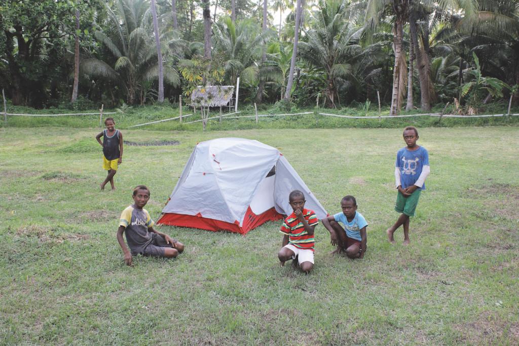 Vanatu campement