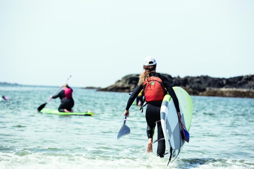Tofino bc surf yoga