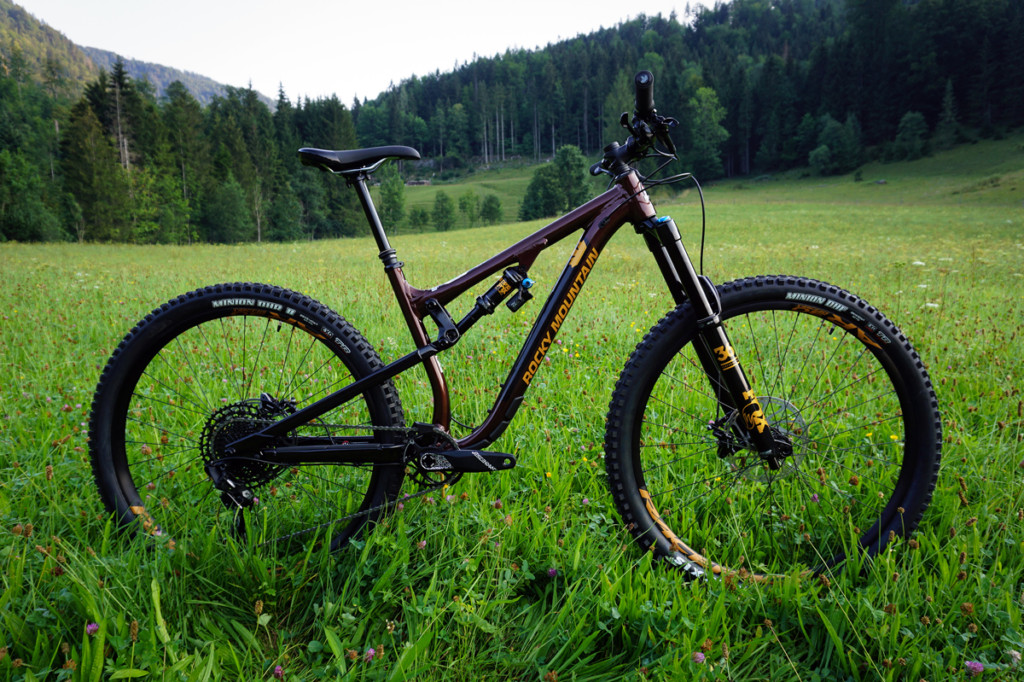 Rocky Mountain Instinct BC Edition version en aluminium